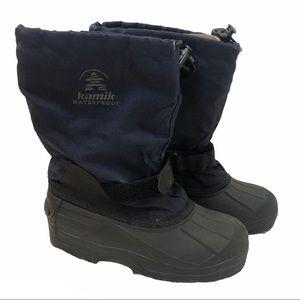 Kamik waterproof snow boots Sz 5